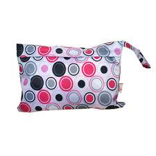 Baby Waterproof Travel Wet Dry Storage Bag Portable Cloth Zipper Diaper PouchEC