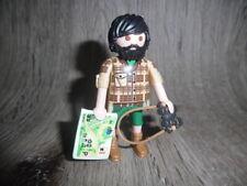 Playmobil Figuren   Bergsteiger   Wanderer mit Fernglas & Karte