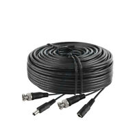15ft 15 ft BNC CCTV Video Power Cable for CCD Security Camera DVR Wire Cord