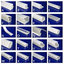 LED Profil für LED-Strips Indoor Outdoor 1m 2m Einbau Aufbau Eck Winkel Deko LLV