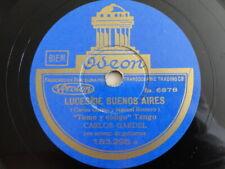 78rpm Carlos Gardel - Luces de Buenos Aires /  Como abrazando a un rencor