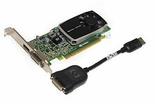 HP Nvidia Quadro 600 1G DDR3 PCIe 2.0 x16 Video Graphics Card 612951-001 Silver