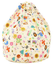 Child Size Party Animal Bean Bag With Beans by BeanLazy