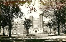 Minnesota, MN, Northfield, Burton Hall, Carleton College 1940's Real Photo PC