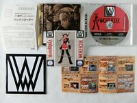 WACHEN RODER Wachenroder Sticker SS Sega Saturn From Japan