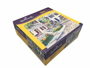 Milton Bradley Hasbro Hallmark 1000 Piece Patriotic House 20 x 24 Jigsaw Puzzle