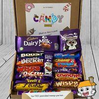 CADBURY Chocolate Hamper BIG Box Present Birthday Personalised Gift Twirl Sweet