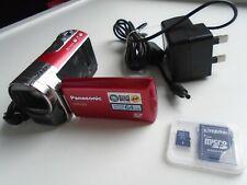 Panasonic SDR-S50 Camcorder + 8GB Memory Card C19-133