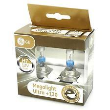 2x GE Megalight Ultra Plus +130% light H7 Duo Pack General Electric 58520XNU