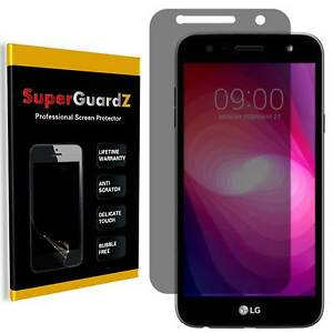 SuperGuardZ® Privacy Anti-Spy Screen Protector Shield Guard For LG X Charge