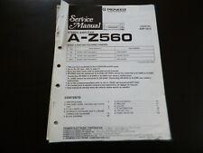 Original Service Manual Schaltplan Pioneer A-Z560