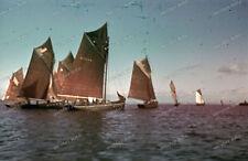 Farb Dia-AGFACOLOR-2.WK-Douarnenez-Bretagne-Finistère-Quimper-Atlantikküste-6