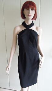 Abendkleid Kleid Thierry Mugler Gr. 36 Gr. 38 schwarz Afrika Halschmuck Rarität