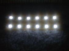 "ALFA ROMEO   LAND ROVER  WHITE 12"" 5050 SMD LED STRIPS TOTAL 24 LEDS 5050 SMD"