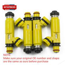 4 Pcs NEW Yellow Fuel Injectors For 2004-2008 Mazda RX-8 195500-4450