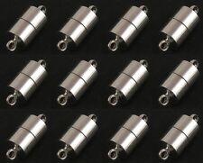 12 Silber Magnet Verschluss Verbinder Messing 20mm Schmuck Basteln MODE M382#3