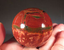 40MM Natural Nice Picasso Jasper Quartz Crystal Sphere Ball  Healing Home Decor