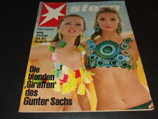 """Die blonden ""Giraffen"" des Gunter Sachs"" … 1966 … on cover … ""Stern"""