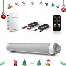 Surround Sound Bar Speaker System Wireless BT Subwoofer TV Home Theater &Remoter