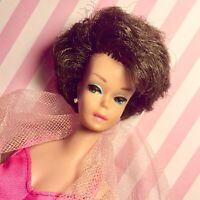 Vintage Barbie Bubble Cut Brunette AS ENTICING AS THEY COME!
