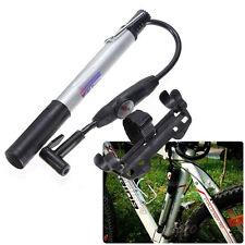 Vélos Portable manomètre Cyclisme Vélo pompe à main gonfleur Presta Shrader