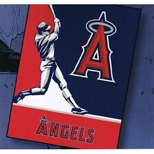 MLB Baseball Los Angeles Angels Blanket throw king Size plush Oversized New