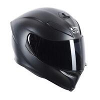 Casco Helmet Helm AGV K5 K-5 S INTEGRALE FIBRA MATT BLACK NERO OPACO CON PINLOCK