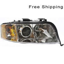 Halogen Head Lamp Assembly RH Side Fits Audi A6 A6 Quattro 6Cyl Engine AU2503115