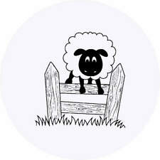 'Jumping Sheep' Stickers (SK019852)