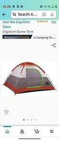 GigaTent Portable Outdoor Trail Head 3-Persons Dome Camping Hiking Shelter Tent