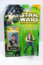 STAR WARS - JEDI FORCE FILE Han Solo death star escape Actionfigur Hasbro (LR40)