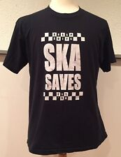 vtg Vintage 90s Cheap Suits Ska Saves Est 96 Canadian Ska Band T Shirt Large