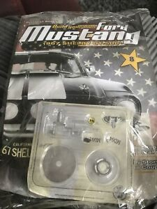 Deagostini build your own ford mustang 1967 Shelby gt-500 Issue 8