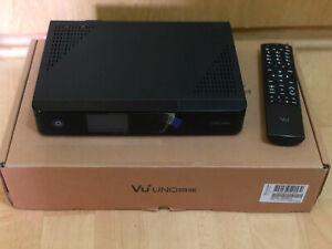 VU+ Uno 4K UHD 2160p DVB-S2 FBC/ 4TB Seagate HDD/ wiederaufladbare HD02 Karte