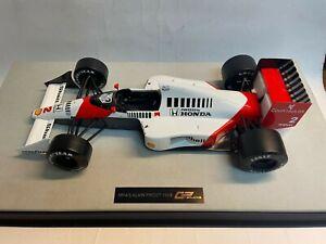 GP Replicas Mclaren Honda MP4/5 Alain Prost World Champion 1989 1/12 GP1204B