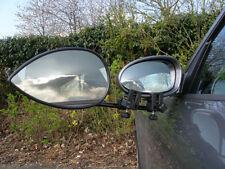 MILENCO Aero 3, Flat Glass Towing Mirror, Strap-Free, Single Pack (ML1588)