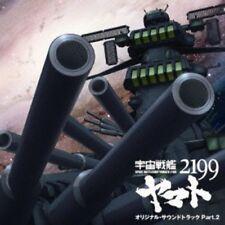 Anime Space Battleship Yamato 2199 Part 2 (Original Soundtrack) [New CD] Japan