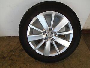 "VOLKSWAGEN VW GOLF MK6 16"" ALLOY WHEEL 6.5Jx16 ET50 5K0601025S 205/55R16  REF1"