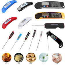 Digital Food Thermometer BBQ Water Oil Milk Electronic Cooking Meat Probe Meter