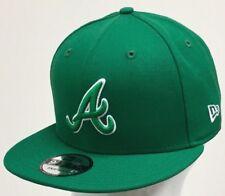 NEW ERA MLB 9FIFTY SNAPBACK ATLANTA BRAVES Kelly Green/White