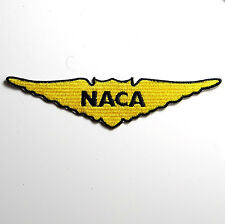 """NASA """"NACA"""" WINGS, Embroidered Patch - Made In USA Quality"""