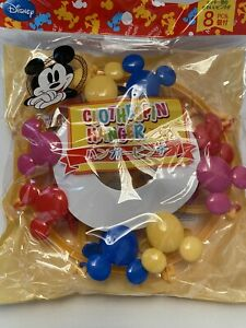 """""""New"""" Disney Daiso Colorful Mickey Mouse Clothespin Hanger Laundry Clothes Dryer"""