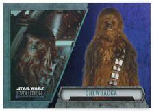 2016 Star Wars Evolution Lightsaber Purple 56 Chewbacca Smuggler