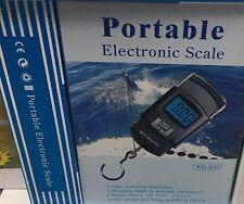 Mini Bilancia da Viaggio 50KG 10G Pesa Valigie Bagagli Digitale Portatile LCD