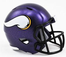 NEW NFL American Football Riddell SPEED Pocket Pro Helmet MINNESOTA VIKINGS
