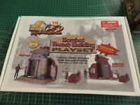 ULTIMATE SOLDIER 21st CENTURY BOMBED FRENCH BUILDING PLAY SET 1:18 NEW
