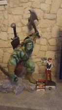 Sideshow Skaar son of Hulk, 1:4, Premium estatua de formato, Marvel, Top, + 3 armas