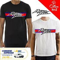 T-Shirt Honda Africa twin uomo Maglia moto nera cotone 100% maglietta