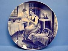 """KAISER PORCELAIN (West Germany) Mother's Day Plate """"Mother's Devotion"""" 1979"""
