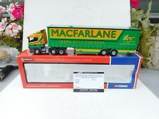 Corgi 1:50Corgi CC12206 Scania  TRANSPORT Macfarlane Transport in 1:50 Scale